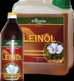LeinÖl – kallpressad linfröolja med värdefulla, fleromättade fettsyror